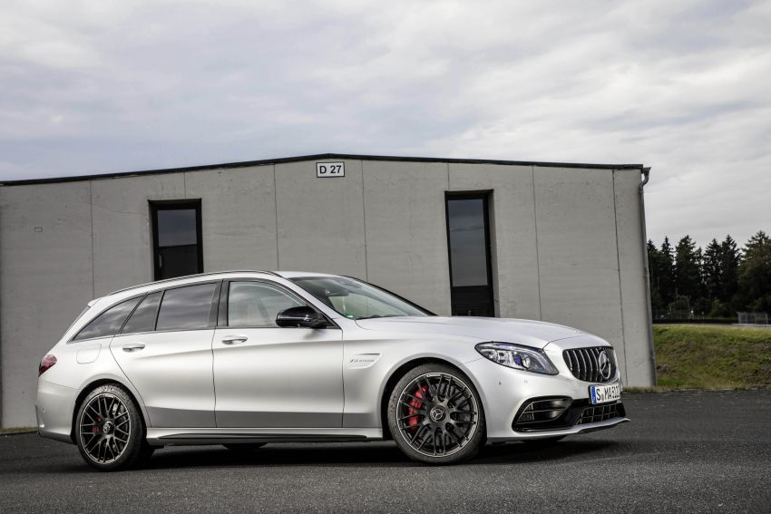 Mercedes-AMG C63 facelift debuts with new 9G auto Image #955975