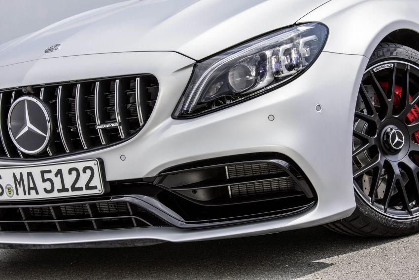 Mercedes-AMG C63 facelift debuts with new 9G auto Image #955976