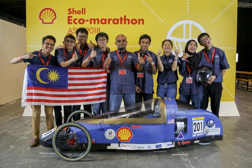 Shell Eco-Marathon 2018 – tujuh pasukan Malaysia layak; Eco Voyager tempat ketiga Prototaip Hidrogen Image #794648