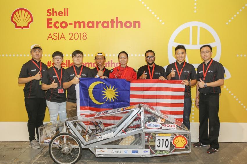 Shell Eco-Marathon 2018 – tujuh pasukan Malaysia layak; Eco Voyager tempat ketiga Prototaip Hidrogen Image #794649