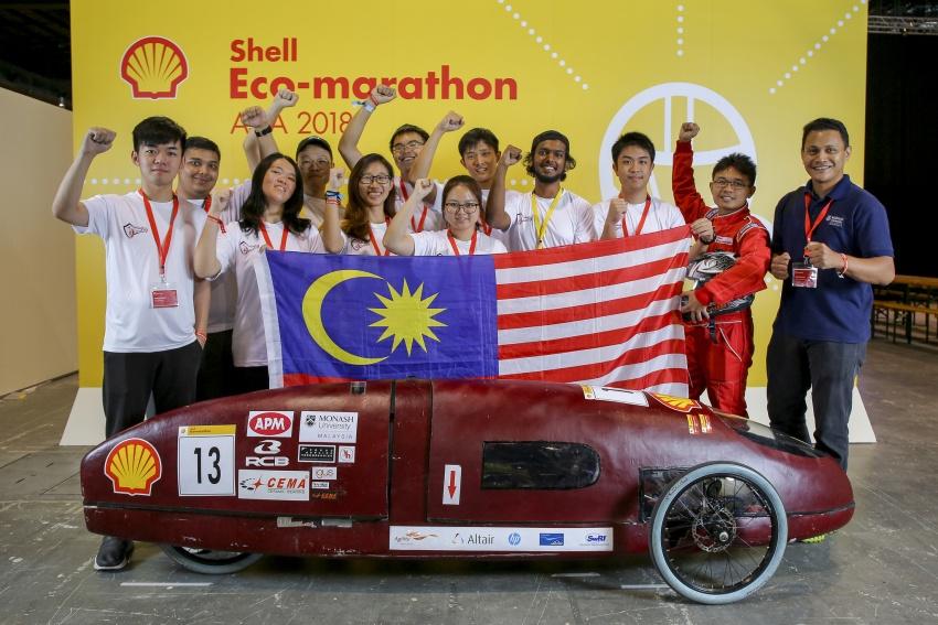 Shell Eco-Marathon 2018 – tujuh pasukan Malaysia layak; Eco Voyager tempat ketiga Prototaip Hidrogen Image #794650