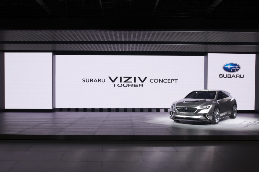 Subaru Viziv Tourer Concept revealed – next Levorg? Image #787361