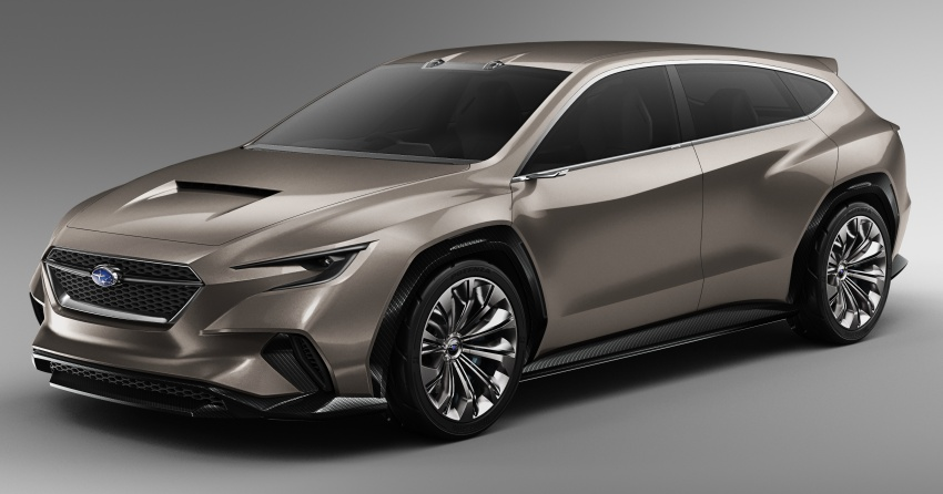 Subaru Viziv Tourer Concept revealed – next Levorg? Image #787364