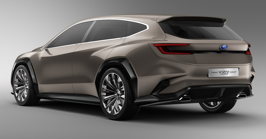 Subaru Viziv Tourer Concept revealed – next Levorg? Image #787365