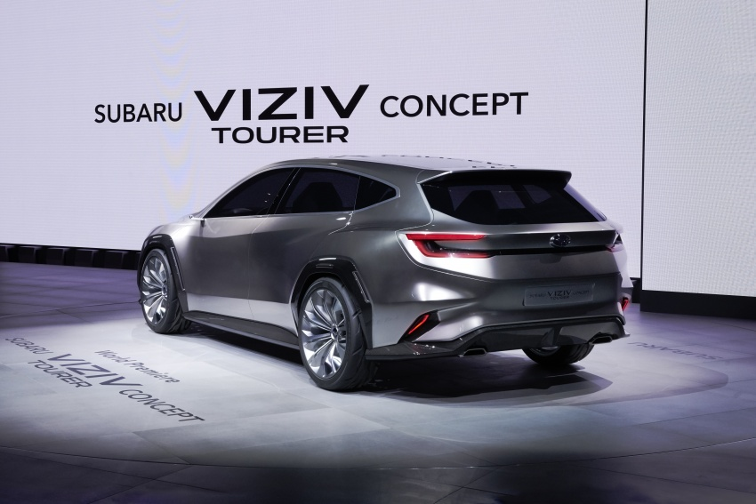 Subaru Viziv Tourer Concept revealed – next Levorg? Image #787352