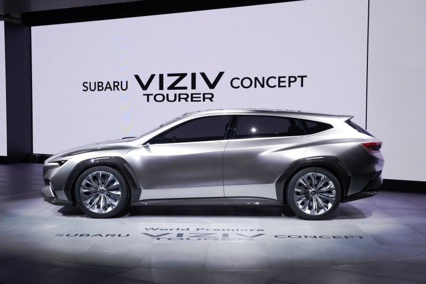 Subaru Viziv Tourer Concept revealed – next Levorg? Image #787353