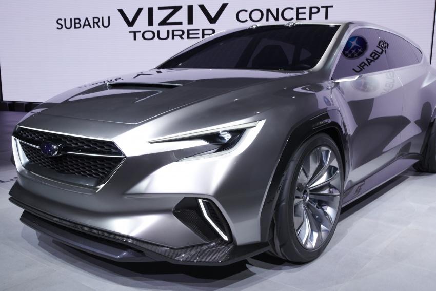 Subaru Viziv Tourer Concept revealed – next Levorg? Image #787355