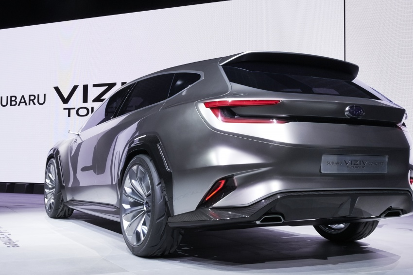 Subaru Viziv Tourer Concept revealed – next Levorg? Image #787356