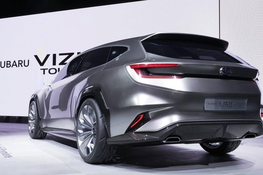 Subaru Viziv Tourer Concept revealed – next Levorg? Image #787356
