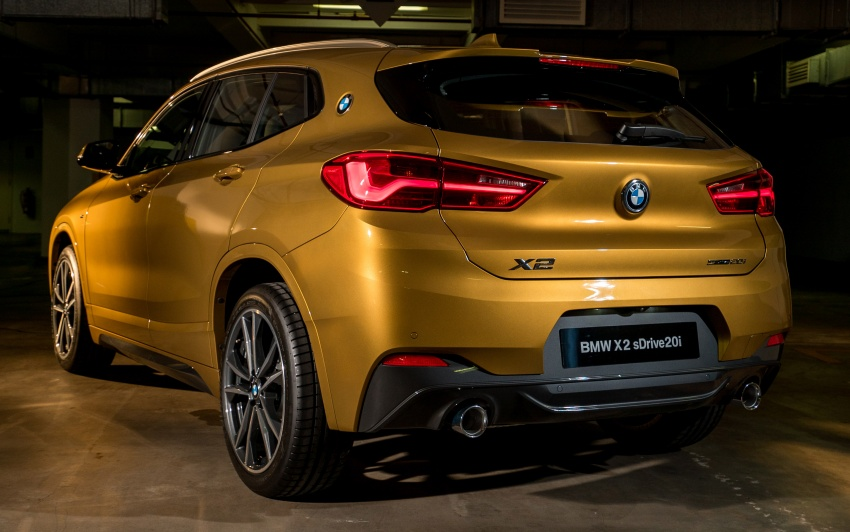 F39 BMW X2 launched in Malaysia – sDrive20i, RM321k Image #793611