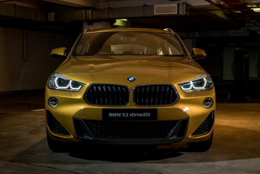 F39 BMW X2 launched in Malaysia – sDrive20i, RM321k Image #793612