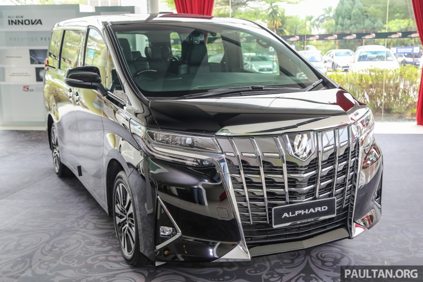 GALLERY: Toyota Alphard, Vellfire facelift previewed – full specifications, equipment detailed, RM351k-541k Image #792806