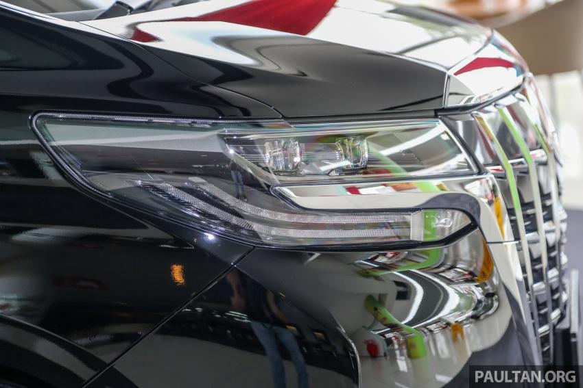 GALERI: Toyota Alphard, Vellfire facelift 2018 – senarai kelengkapan penuh, harga antara RM351k-RM541k Image #792187