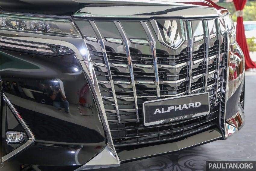GALLERY: Toyota Alphard, Vellfire facelift previewed – full specifications, equipment detailed, RM351k-541k Image #792817