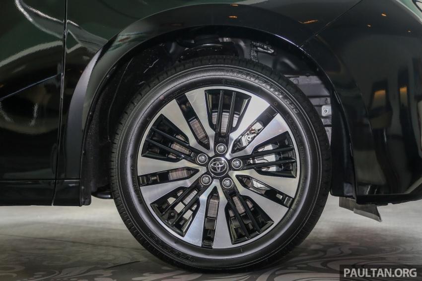 GALLERY: Toyota Alphard, Vellfire facelift previewed – full specifications, equipment detailed, RM351k-541k Image #792823