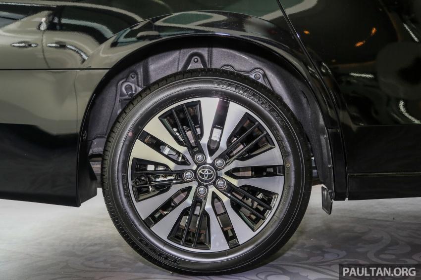 GALLERY: Toyota Alphard, Vellfire facelift previewed – full specifications, equipment detailed, RM351k-541k Image #792824