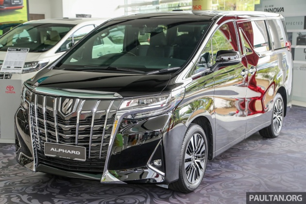 GALERI: Toyota Alphard, Vellfire facelift 2018 - senarai