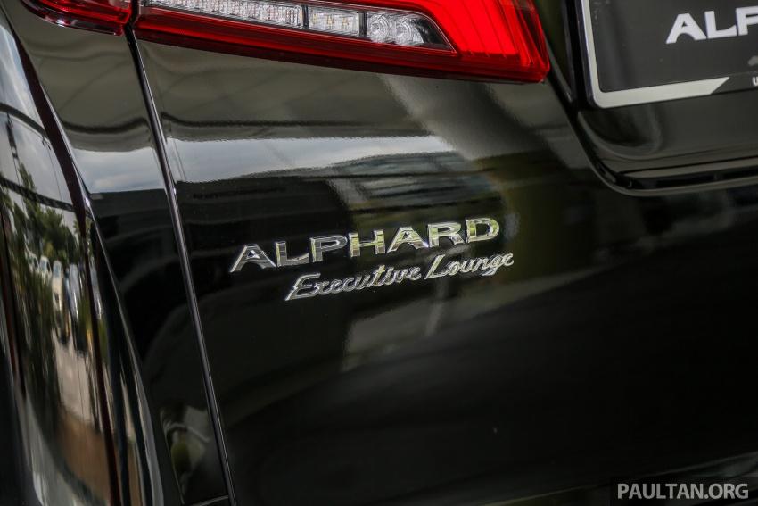 GALLERY: Toyota Alphard, Vellfire facelift previewed – full specifications, equipment detailed, RM351k-541k Image #792828