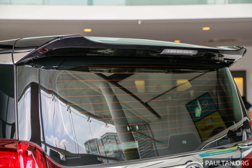 GALERI: Toyota Alphard, Vellfire facelift 2018 – senarai kelengkapan penuh, harga antara RM351k-RM541k Image #792201