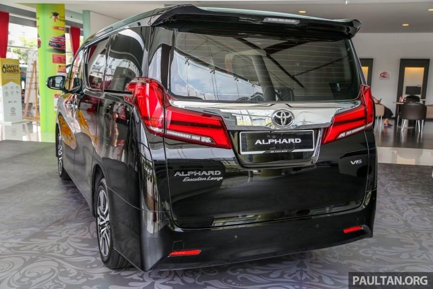 GALLERY: Toyota Alphard, Vellfire facelift previewed – full specifications, equipment detailed, RM351k-541k Image #792809