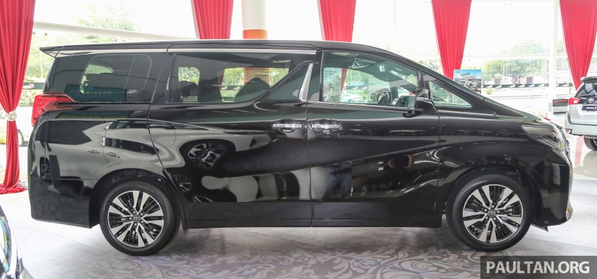 GALLERY: Toyota Alphard, Vellfire facelift previewed – full specifications, equipment detailed, RM351k-541k Image #792810