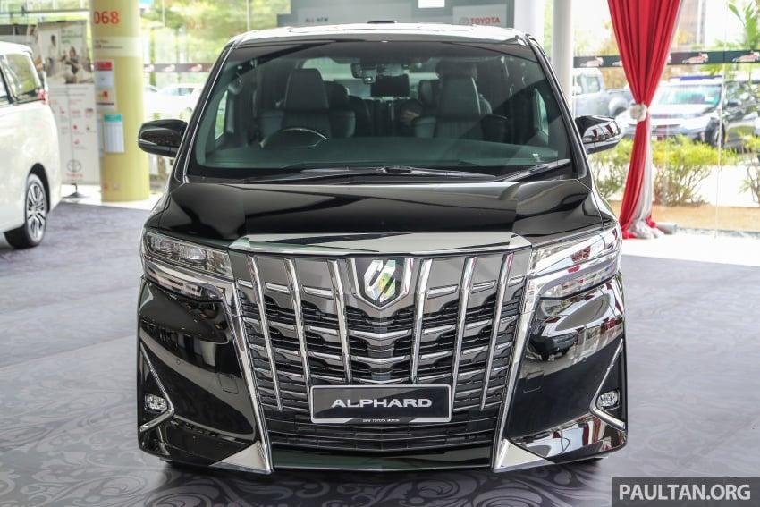 GALLERY: Toyota Alphard, Vellfire facelift previewed – full specifications, equipment detailed, RM351k-541k Image #792811