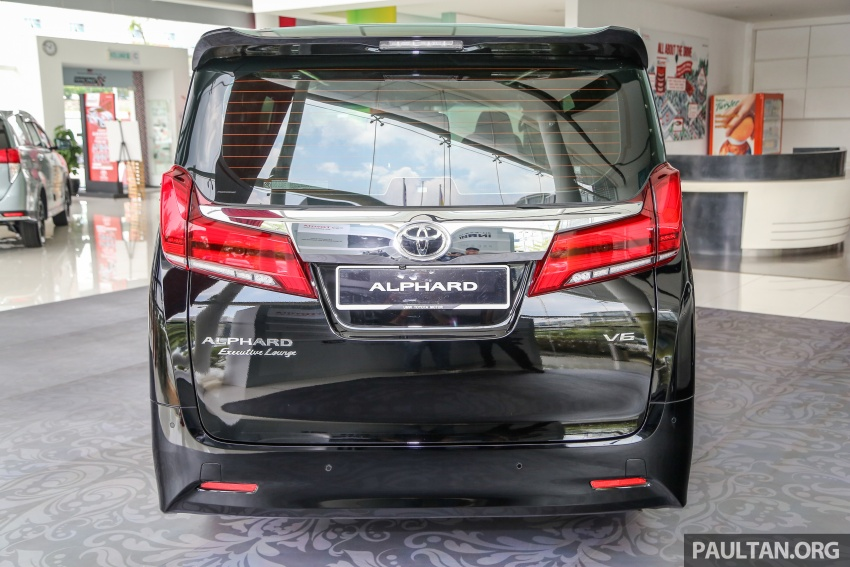 GALLERY: Toyota Alphard, Vellfire facelift previewed – full specifications, equipment detailed, RM351k-541k Image #792812