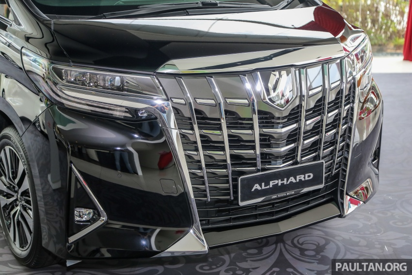 GALLERY: Toyota Alphard, Vellfire facelift previewed – full specifications, equipment detailed, RM351k-541k Image #792813