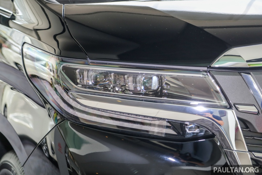 GALLERY: Toyota Alphard, Vellfire facelift previewed – full specifications, equipment detailed, RM351k-541k Image #792814