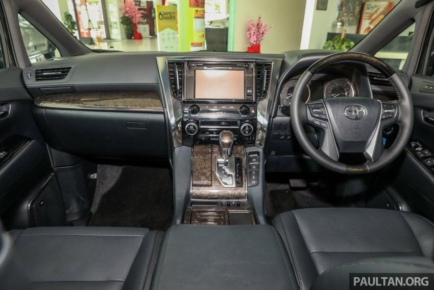 GALLERY: Toyota Alphard, Vellfire facelift previewed – full specifications, equipment detailed, RM351k-541k Image #792832