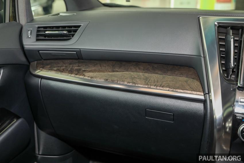 GALLERY: Toyota Alphard, Vellfire facelift previewed – full specifications, equipment detailed, RM351k-541k Image #792844