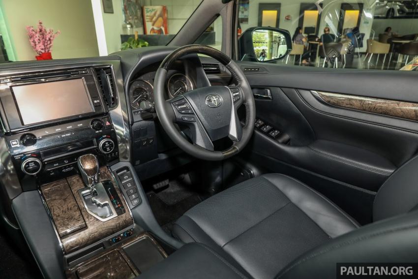 GALERI: Toyota Alphard, Vellfire facelift 2018 – senarai kelengkapan penuh, harga antara RM351k-RM541k Image #792225