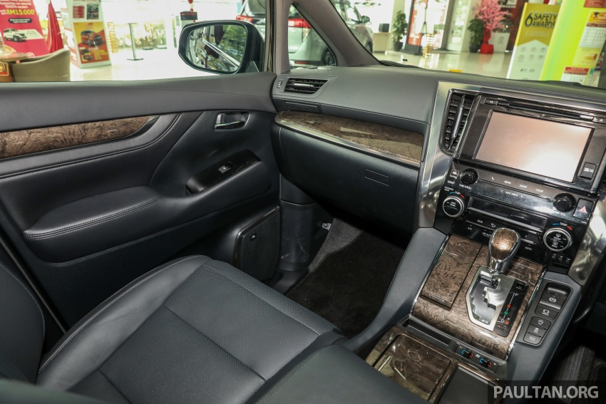 GALLERY: Toyota Alphard, Vellfire facelift previewed – full specifications, equipment detailed, RM351k-541k Image #792850