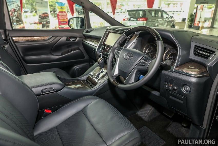 GALERI: Toyota Alphard, Vellfire facelift 2018 – senarai kelengkapan penuh, harga antara RM351k-RM541k Image #792206