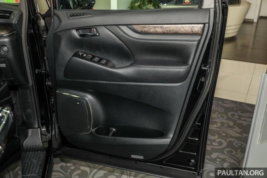 GALLERY: Toyota Alphard, Vellfire facelift previewed – full specifications, equipment detailed, RM351k-541k Image #792854
