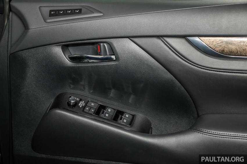 GALERI: Toyota Alphard, Vellfire facelift 2018 – senarai kelengkapan penuh, harga antara RM351k-RM541k Image #792233