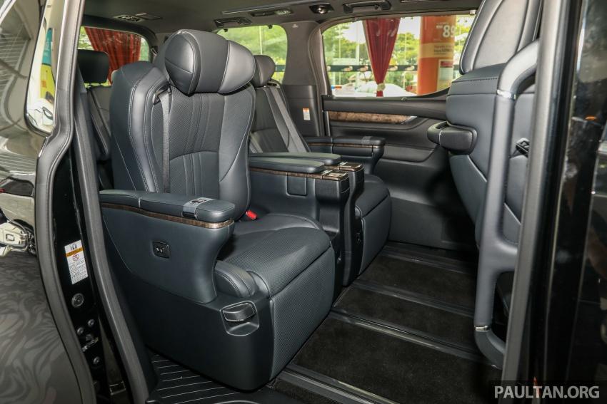 GALLERY: Toyota Alphard, Vellfire facelift previewed – full specifications, equipment detailed, RM351k-541k Image #792856