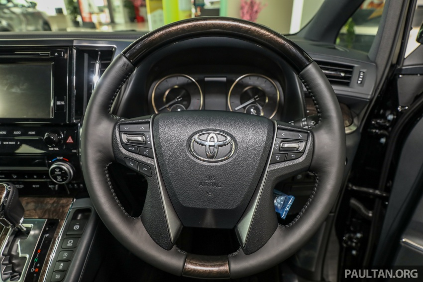 GALLERY: Toyota Alphard, Vellfire facelift previewed – full specifications, equipment detailed, RM351k-541k Image #792834