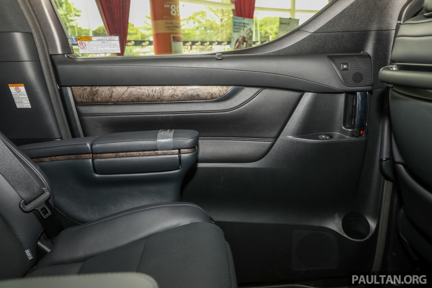 GALLERY: Toyota Alphard, Vellfire facelift previewed – full specifications, equipment detailed, RM351k-541k Image #792868