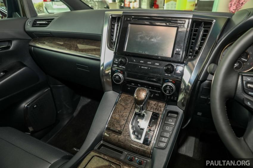 GALERI: Toyota Alphard, Vellfire facelift 2018 – senarai kelengkapan penuh, harga antara RM351k-RM541k Image #792210
