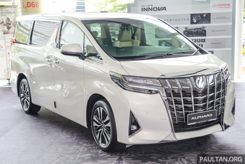 GALLERY: Toyota Alphard, Vellfire facelift previewed – full specifications, equipment detailed, RM351k-541k Image #792502