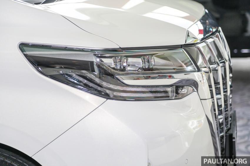 GALERI: Toyota Alphard, Vellfire facelift 2018 – senarai kelengkapan penuh, harga antara RM351k-RM541k Image #792659
