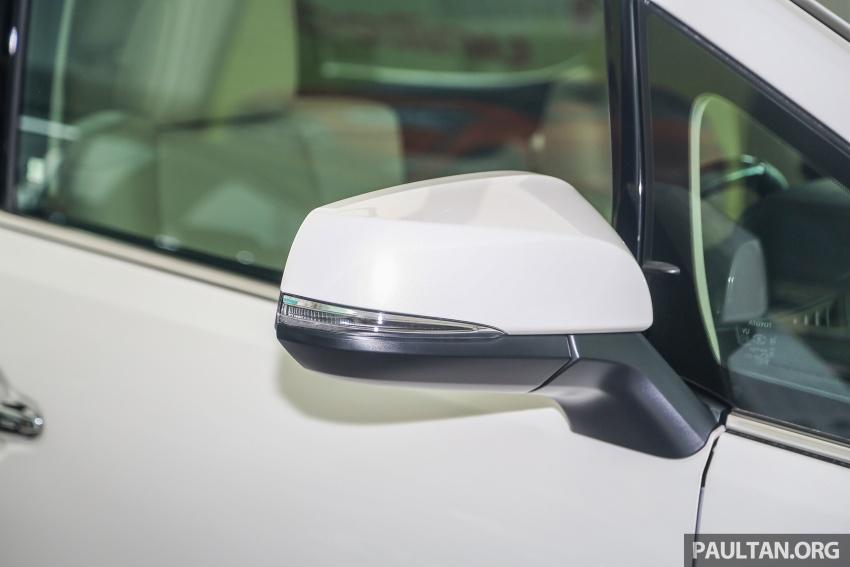 GALLERY: Toyota Alphard, Vellfire facelift previewed – full specifications, equipment detailed, RM351k-541k Image #792516