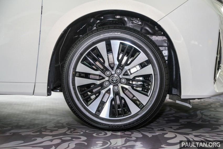 GALLERY: Toyota Alphard, Vellfire facelift previewed – full specifications, equipment detailed, RM351k-541k Image #792522