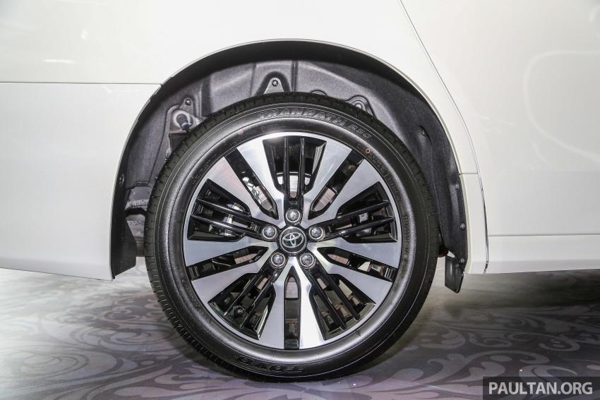 GALLERY: Toyota Alphard, Vellfire facelift previewed – full specifications, equipment detailed, RM351k-541k Image #792524