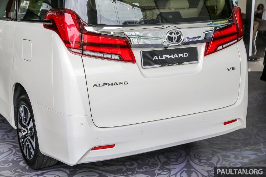 GALERI: Toyota Alphard, Vellfire facelift 2018 – senarai kelengkapan penuh, harga antara RM351k-RM541k Image #792669