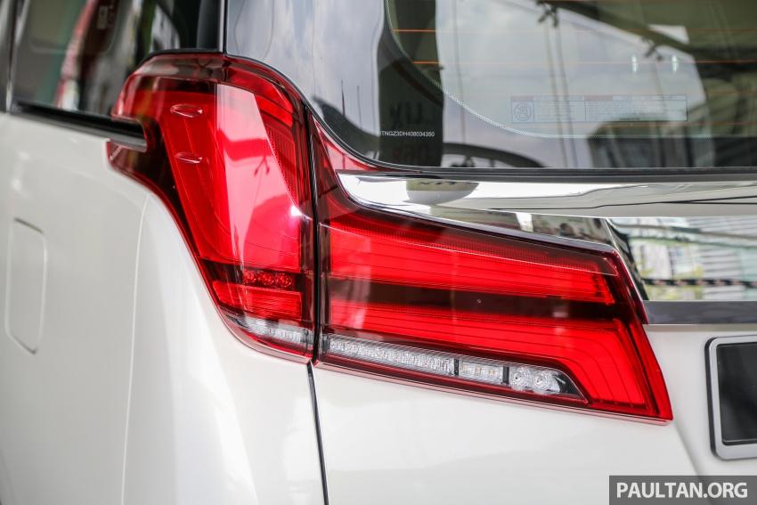 GALLERY: Toyota Alphard, Vellfire facelift previewed – full specifications, equipment detailed, RM351k-541k Image #792527