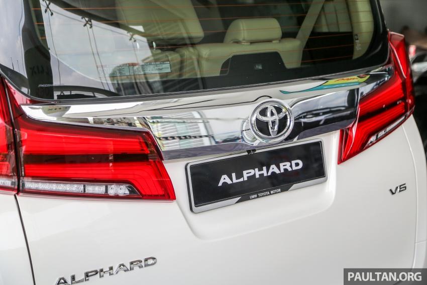 GALERI: Toyota Alphard, Vellfire facelift 2018 – senarai kelengkapan penuh, harga antara RM351k-RM541k Image #792672