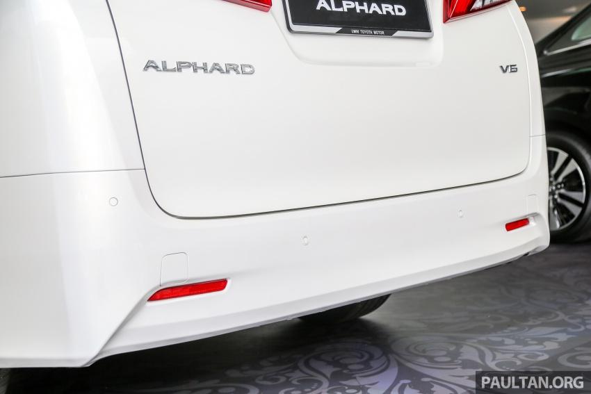 GALERI: Toyota Alphard, Vellfire facelift 2018 – senarai kelengkapan penuh, harga antara RM351k-RM541k Image #792673