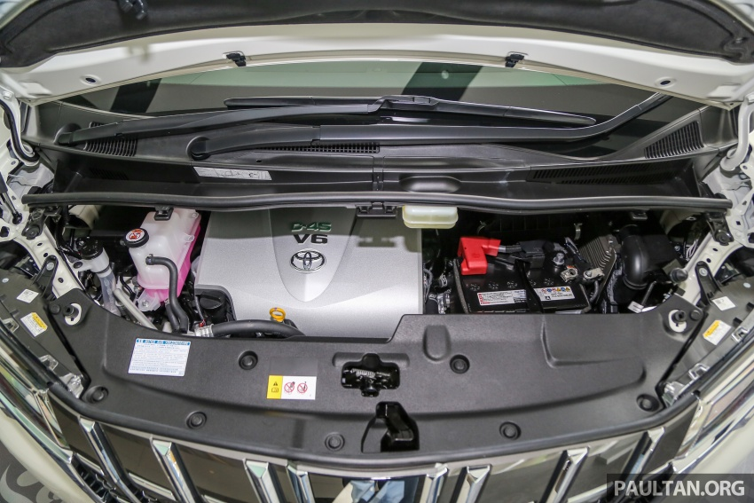 GALLERY: Toyota Alphard, Vellfire facelift previewed – full specifications, equipment detailed, RM351k-541k Image #792536